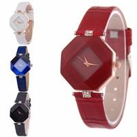Đồng hồ thời trang nữ mặt đá màu thiết kế tinh tế cá tính -305