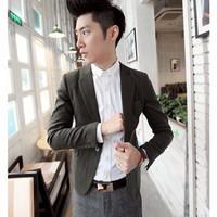 áo khoác blazer nam tính Mã: NK0972 - XANH LÁ