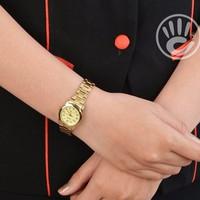 Đồng hồ nữ Casio chính hãng V001G full gold