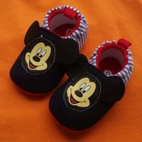 Giày tập đi hình chuột Mickey