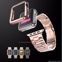 Ốp viền HOCO mạ crom cho Apple Watch 38mm serries  2