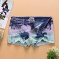 quần jeans phối màu đính hạt Mã: QN579
