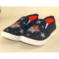 Giày lười cho bé trai và bé gái Z-26 đen