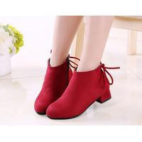 Giày công chúa cổ cao Z 27 đỏ