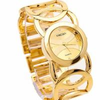 Đồng hồ nữ KINGSKY KS005 dây thép kết hợp lắc tay