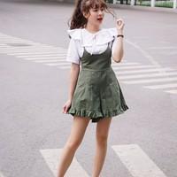 quần short yếm ống rộng Mã: QN730