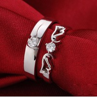 Nhẫn đôi kim cương đẹp 3