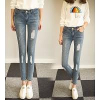 quần jeans skinny rách Mã: QD1252