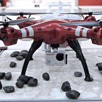 Flycam X8HG quay film Full HD tự cân bằng bay
