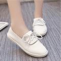Giày oxford nữ trắng HNP GN120