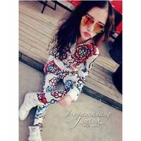 quần áo khoác bộ bông hoa Mã: AA543 - 1