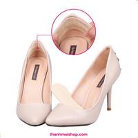 CH021x3 - Combo 6 miếng lót giày giả da bảo vệ gót chân