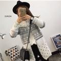 áo khoác len nữ họa tiết Mã: AO2811