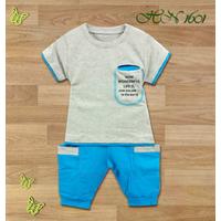Bộ quần áo Thun Thể Thao cho bé trai