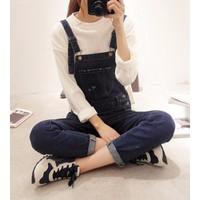 quần yếm jeans dạo phố Mã: QD1300