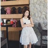 Đầm Xòe Ren