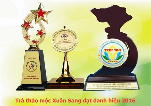 Trà thảo mộc Xuân Sang - Thanh nhiệt - Giải độc - Giảm cân - Làm đẹp - 2