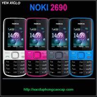 Nokia 2690 Zin Pin Sạc Đầy Đủ