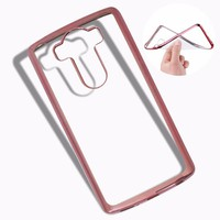 Ốp lưng LG-V10 viền màu hồng