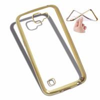 Ốp lưng LG-K4 viền màu vàng