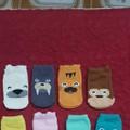 Set 10 đôi tất sắc màu