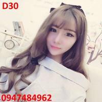Tóc giả nữ Hàn Quốc D30