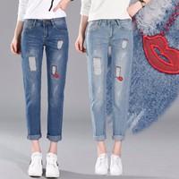 Quần Jean nữ phong cách - Q022
