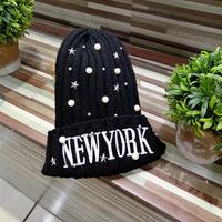 NÓN LEN NEW YORK ĐÍNH HẠT HÀNG NHẬP - XP155