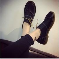Giày oxford doctor dây xéo CHỈ CÒN Size 35