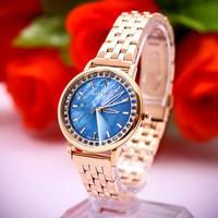 Đồng hồ nữ julius JU1209 Hàn Quốc xanh