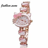 đồng hồ kitty cho nữ đồng hồ dạng vòng tay
