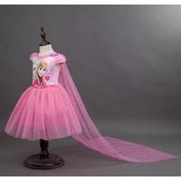 Đầm công chúa Elsa kim tuyếnđuôi dài