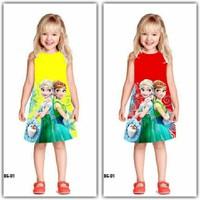 Đầm Công Chúa Băng Giá Elsa MM004
