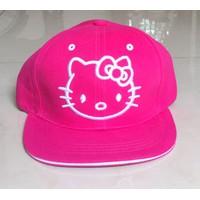 Nón kết bé gái hình mèo hồng -7