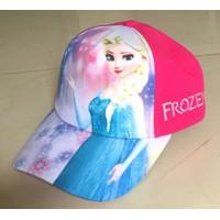 Nón kết bé gái hình Elsa-5