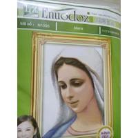Tranh thêu chữ thập mẹ maria N1095- 51x69cm