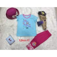 Bộ quần áo cotton trẻ em cao cấp 1-4T