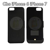 Ốp sạc dự phòng kiêm giá đỡ điện thoại iPhone 6 iPhone 7 màu Đen