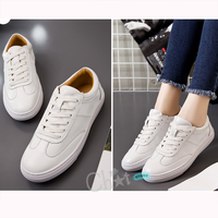 Giày Bata Nữ Lót Da