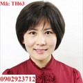 Tóc Giả Nữ Trung Niên Tặng Lưới - TH63