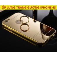 ỐP LƯNG TRÁNG GƯƠNG IPHONE 4S