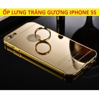 ỐP LƯNG TRÁNG GƯƠNG IPHONE 5S