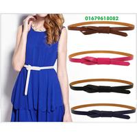 thắt lưng nữ, dây nịt da nữ RETRO thiết kế mới Hàn quốc NHAD909