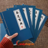 Sổ tay bí kíp kungfu trung - combo 2 sổ bí kíp kungfu candyshop88.vn