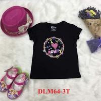 Áo cotton trẻ em cộc tay Size 3T