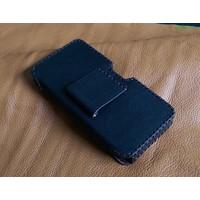 Bao Da Đeo Lưng Opba Motorola Z.Z Style Handmade Da Bò Màu Đen