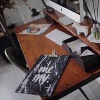 Bàn làm việc, bàn học gỗ tự nhiên Noble desk