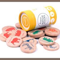 THẺ VỀ CON VẬT HOAN DÃ - Match stacks MIDEER - Đồ chơi trẻ em