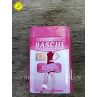 Viên Giảm Cân Baschi Hộp Sắt hồng từ thảo dược thiên nhiên Thái Lan
