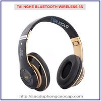 Tai nghe Bluetooth chụp tai WIRELESS 6S